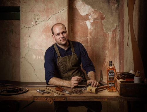 BUSHMILLS IRISH WHISKEY RUNNING FREE LEATHER MAKING AND WHISKEY WORKSHOP