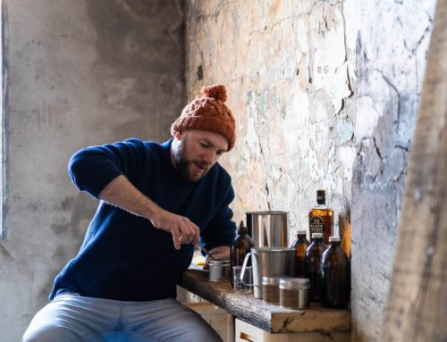 BUSHMILLS IRISH WHISKEY COLLABORATES WITH THE BEARDED CANDLE MAKERS