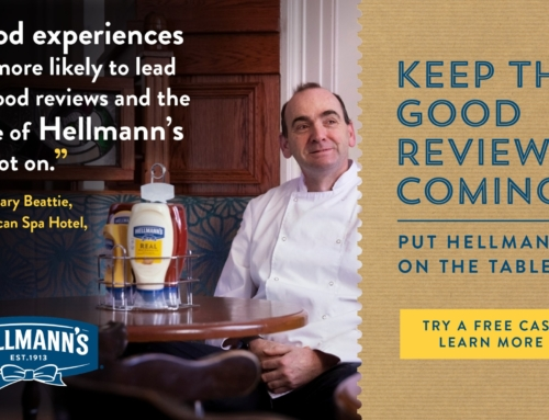 Keep the good reviews coming – Put Hellmann's on the table