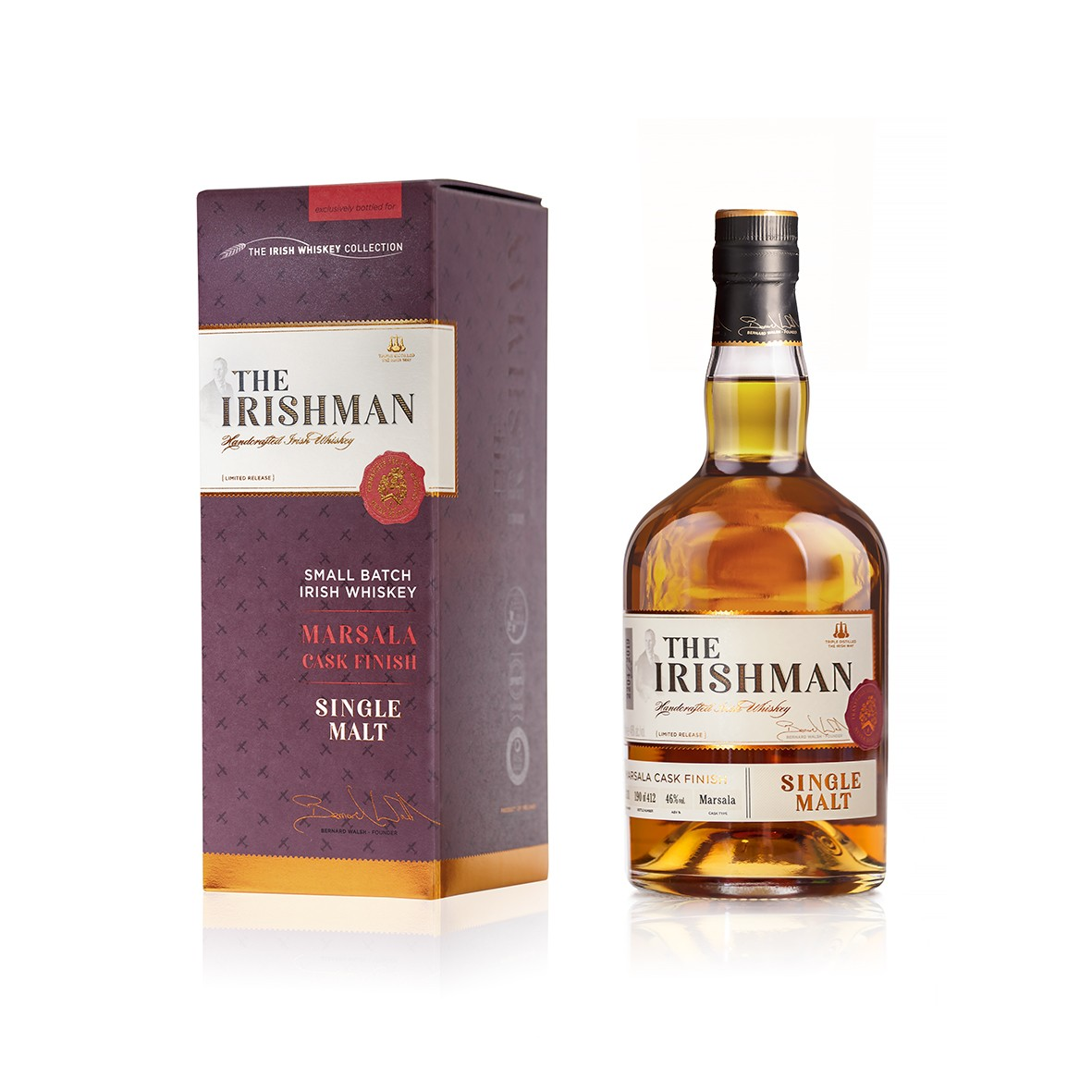 Walsh Whiskey Launches The Irishman Single Malt Marsala Cask Finish Exclusively at The Loop in Cork and Dublin Airport
