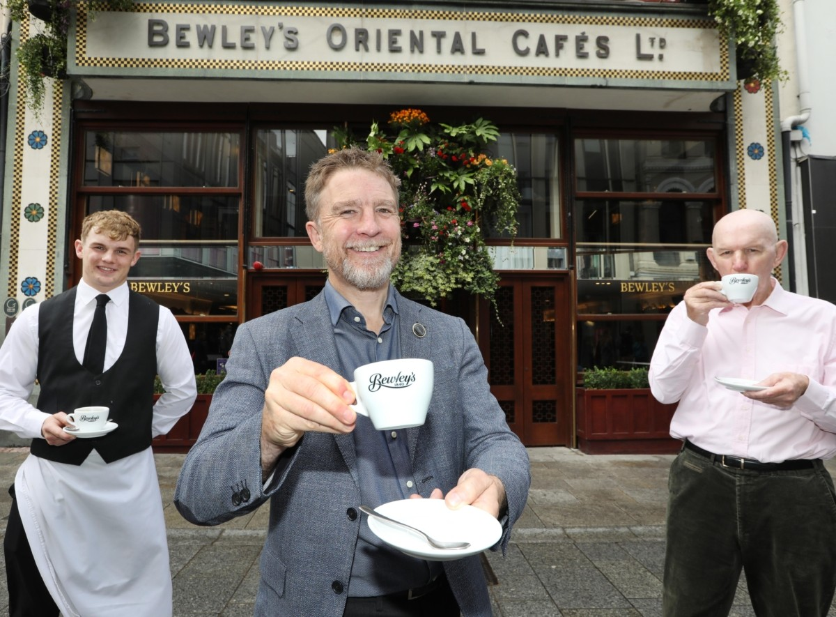 Bewley's Grafton St. reopens its doors