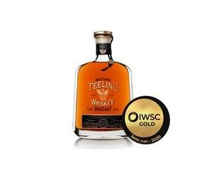 Teeling Whiskey Honoured as Top Irish Whiskey at the Prestigious IWSC