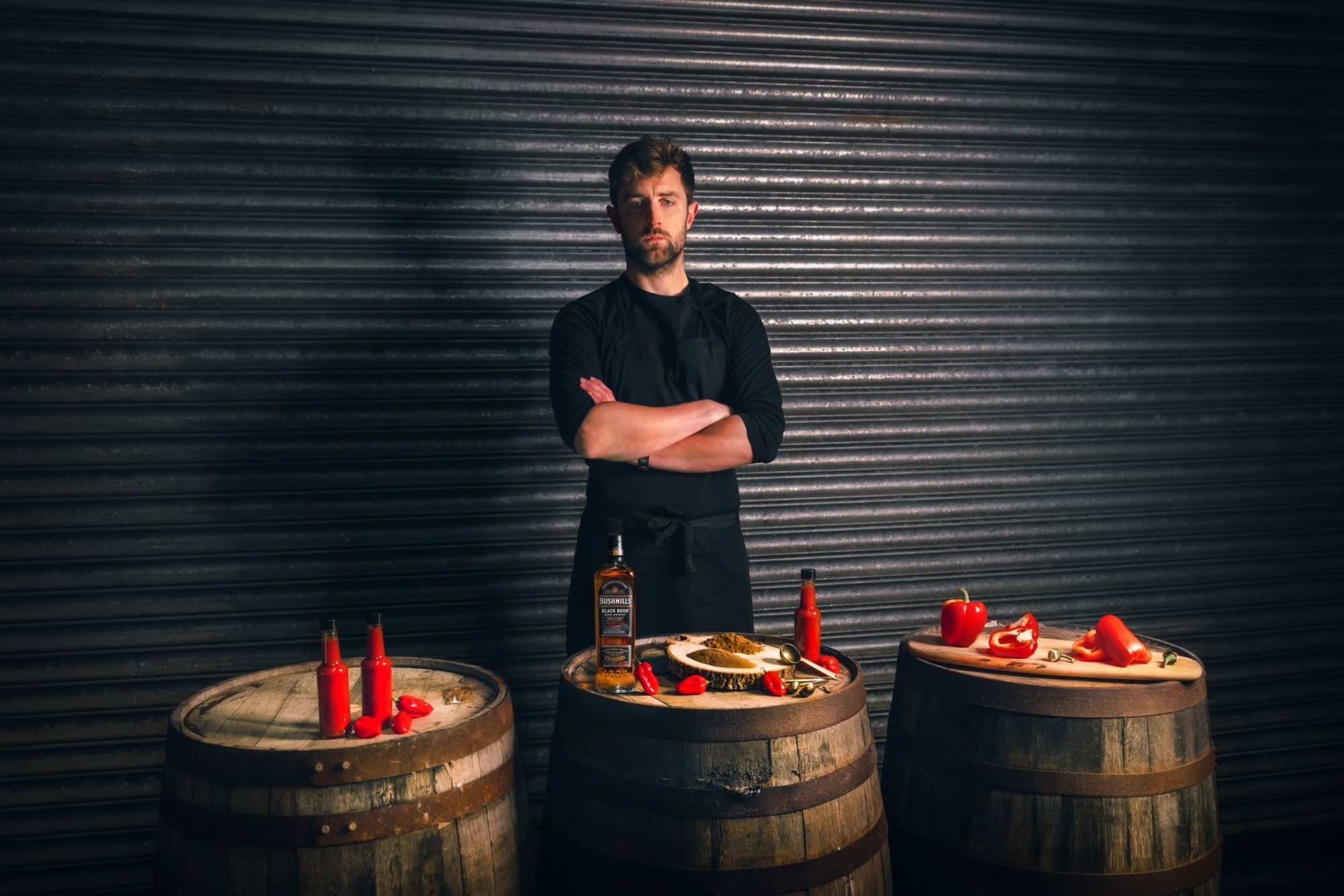 BUSHMILLS BLACK BUSH COLLABORATES WITH IRISH HOT SAUCE PRODUCER TO HOST A SERIES OF COCKTAIL MASTERCLASSES