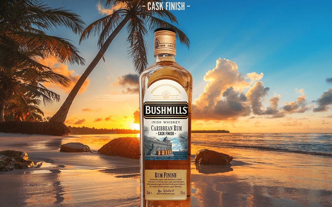 BUSHMILLS® IRISH WHISKEY UNVEILS BRAND NEW CARIBBEAN RUM CASK FINISH